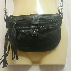 Deena & Izzy Black Crossbody Bag Purse